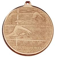 Frosted Glacier Swimming Medal  </br>AM2012.26