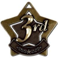 Mini 3rd Place Star Medal</br>AM713