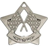 Mini Star Crossed Flags Medal</br>AM726S