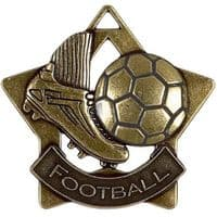 Mini Star Football Medal</br>AM715B