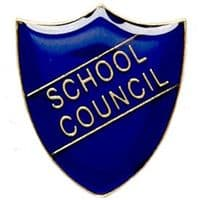 ShieldBadge School Council Blue</br>SB011B