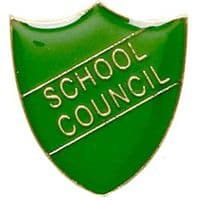 ShieldBadge School Council Green</br>SB011G