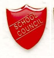 ShieldBadge School Council Red</br>SB011R