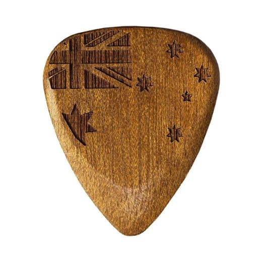 Flag Tones Southern Cross Rose Apple 1 Guitar Pick
