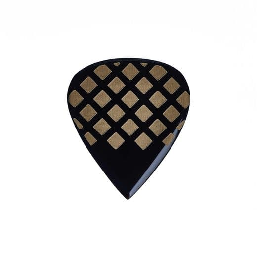 Grip Tones Mini Black Horn 1 Guitar Pick