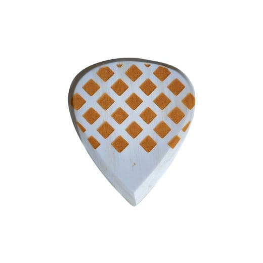 Grip Tones Mini White Horn 1 Guitar Pick