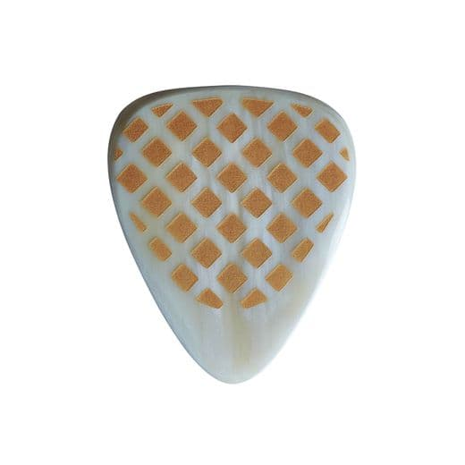 Grip Tones White Horn 1 Guitar Pick