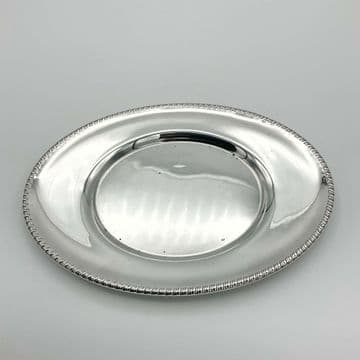 Vintage Silver Plated Tray, Silver Plated Dish, Antique Silver Plated Tray, Small Tray