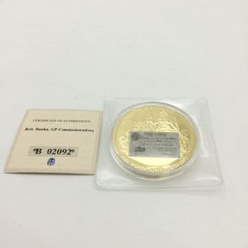 Windsor Mint British £5 White Note Banknote Commemorative Coin Proof