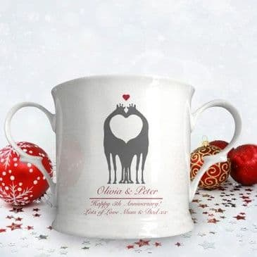 Animal Silhouette Loving Cup