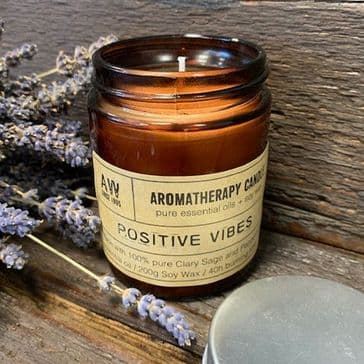 Aromatherapy Candle - Positive Vibes