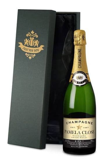 Authentic Star Champagne in a silk lined Gift Box