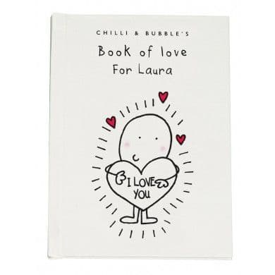 Chilli & Bubble's Book of Love for Her
