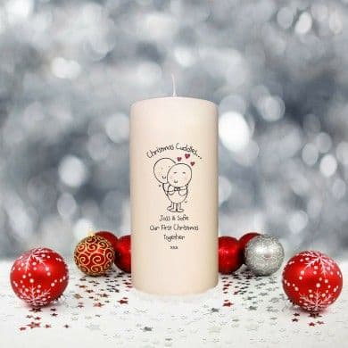 Chilli & Bubble's Christmas Cuddles Candle