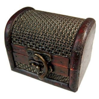 Med Colonial Boxes - Mesh Embossed