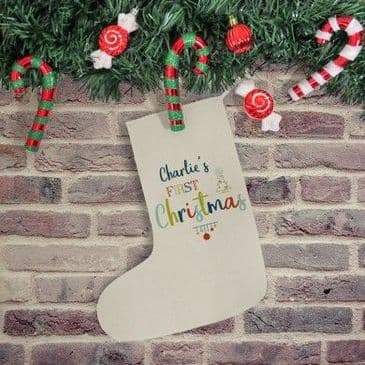 My First Christmas Stocking