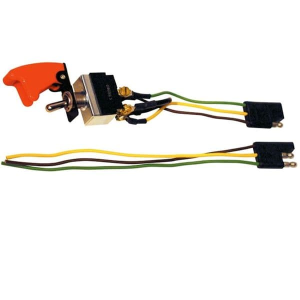 Longacre Ignition / Start Switch Combo w/ Flip-Up Cover