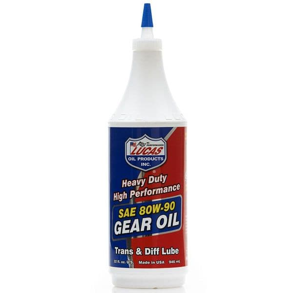 Lucas Oil Heavy Duty 80W-90 Gear Oil
