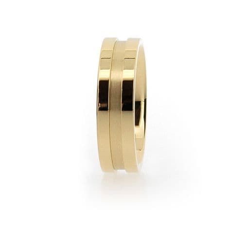 Channel Wedding Ring