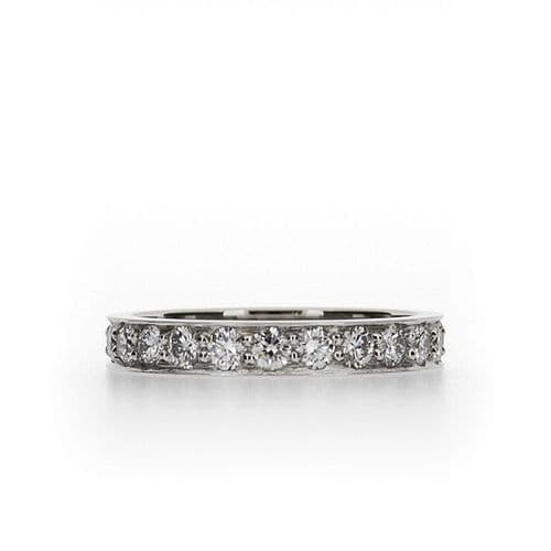 Pavé Set Diamond Wedding Ring