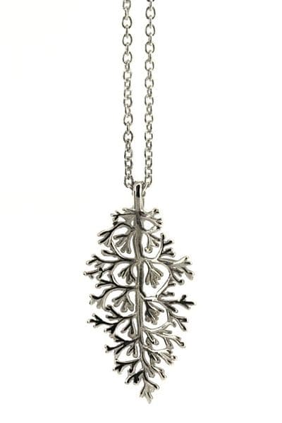 Silver Evergreen Necklace