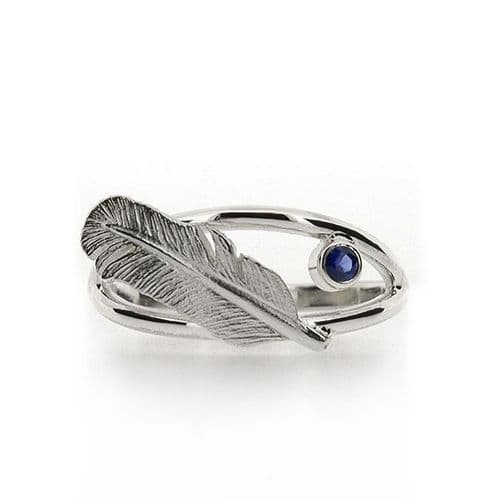 Silver Quill & Ink Ring