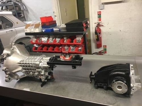 Reconditioned 4 speed Getrag 242 gearbox