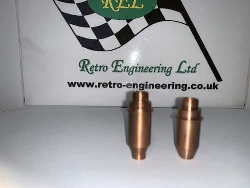 Valve guides for race heads