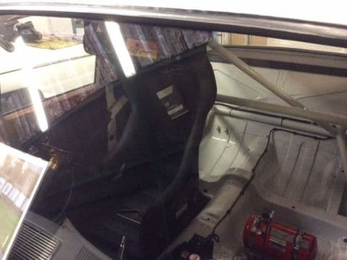 Weld in roll cage kit
