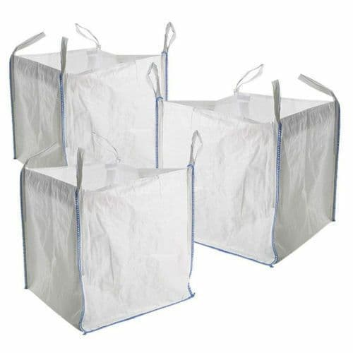 3 x FIBC 1 tonne bulk Jumbo Builders Rubble Sack Waste Storage Bag