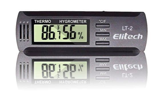 Digital Temperature  Thermometer Temperature and Humidity Memory Elitech LT2