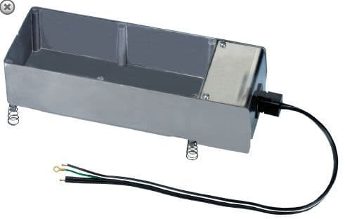 Condensate Drain Tray Heated D70220