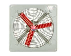 Explosion Proof  Commercial Ventilation Exhaust Metal Axial Fan Air Blower with Grill 300mm