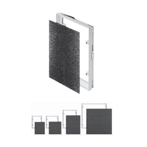 Tiled Magnetic Access Panel Control Hatch Inspection Service Door Caches Locks