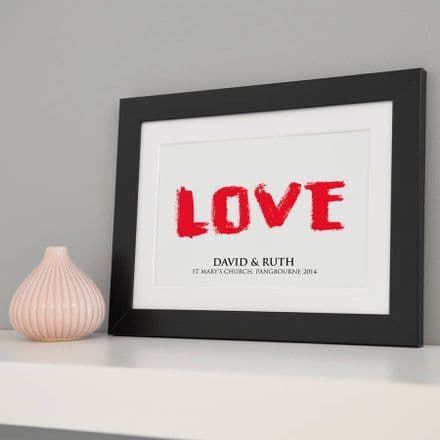 Personalised Love Art
