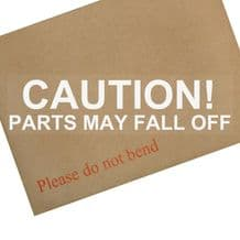 1 x Caution-Parts May Fall Off-Car Van Vehicle Sticker Vinyl Notice Sign Comedy