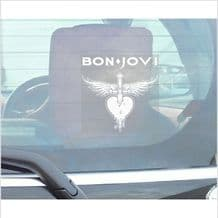 1 x Jon Bon Jovi-Window Self Adhesive Vinyl Sticker for Car,Van,Truck,Vehicle Sign