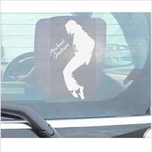 1 x Michael Jackson Billie Jean Window Sticker-Car,Van,Truck,Vehicle Self Adhesive Vinyl Sign