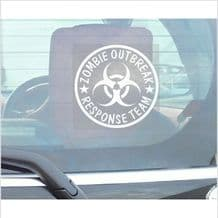 Zombie Outbreak Response Team-Window Sticker for Car,Van,Truck,Vehicle Sign