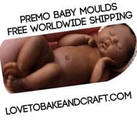 baby mold, OOAK baby,  Fimo babies, Sculpey babies,  mold, Free worldwide  shipping (1) (2)