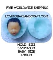 Fairy face mold,  fairy face, free shipping (1) (2)