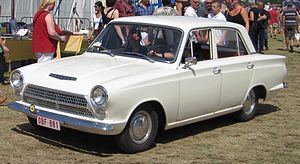 Ford (British) Cortina Mk1 1962-1966