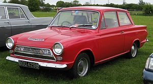Ford (British) Cortina  Mk1 GT 1965-1966