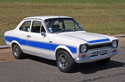 Ford (British) Escort Mk1 Twin Cam  1968-