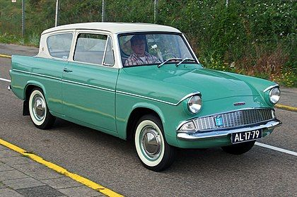 Ford (British) New Anglia 1959-1967