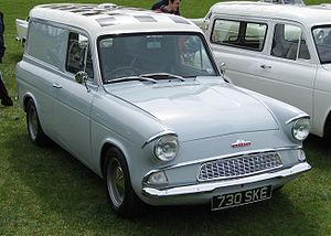 Ford (British) Thames 5 & 7 cwt 1961-1967
