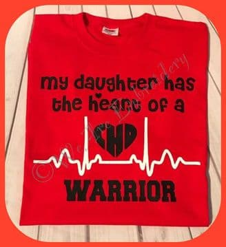 Has the heart of a CHD warrior (adults)