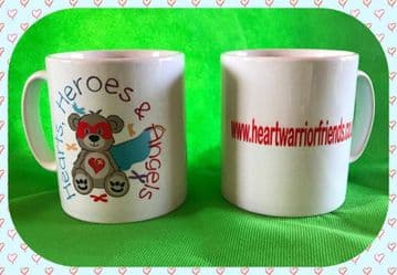 Hearts, Heroes & Angels Mug