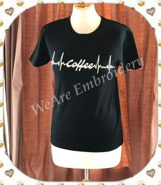 My heart beats for.....Lady's T-shirt