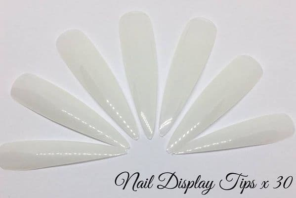 Nail Display Tips x30